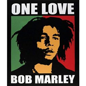 canvas bob marley one love